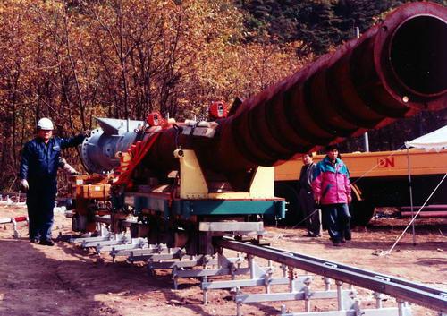 3000型单轨运输机展示2